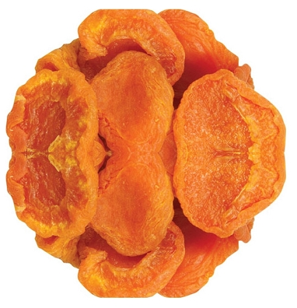 Extra Fancy California Dried Apricots, (12.5 Pounds)