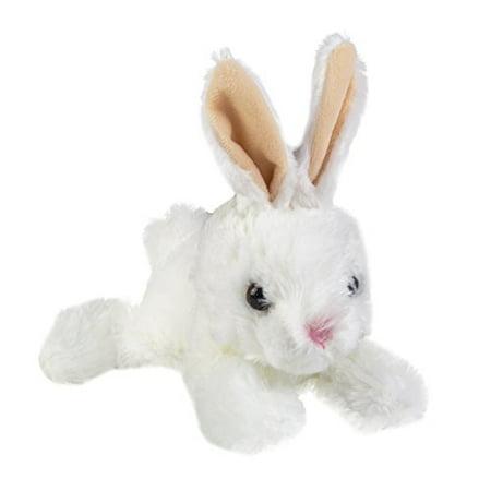 Aurora Wold Plush Mini Flopsie Baby Bunny White 8