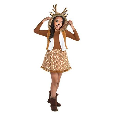 Girls Oh Deer! Costume - Toddler (3-4) Brown