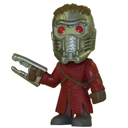 Funko Mystery Minis Vinyl Figure - Guardians of the Galaxy - STAR LORD (Standing with 1 Gun)](Starlord Guardians Of The Galaxy)