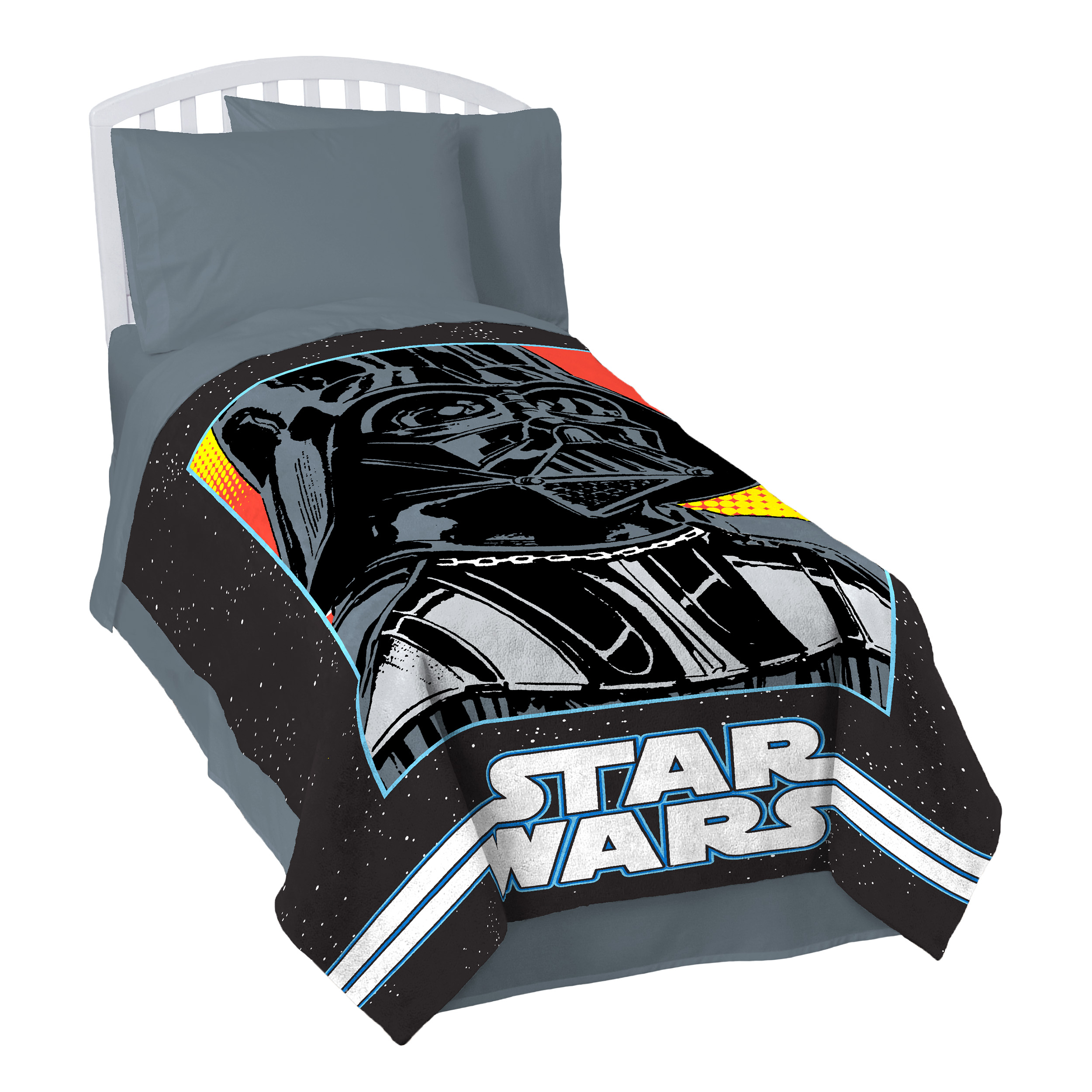 Star Wars Classic Grid 2 Coral Fleece Blanket