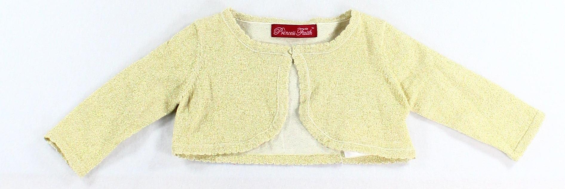 6bfd20452c82 Princess Faith - Princess Faith NEW Gold Baby Girl s Size 18 Months ...