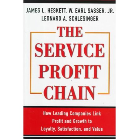 The Service Profit Chain: How Leading Companies Link Profit and Growth to Loyalty, Satisfaction, and Value