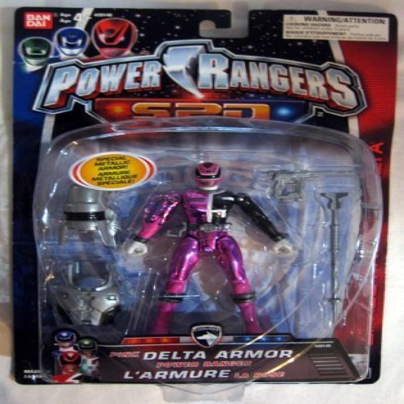 Power Rangers SPD Pink Delta Armor by