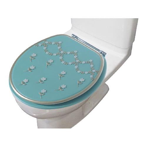 Daniels Bath Maya Decorative Round Toilet Seat