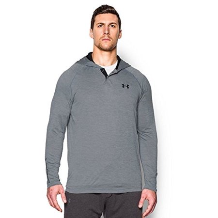 brand new under armour men's tech popover hoodie 100% -