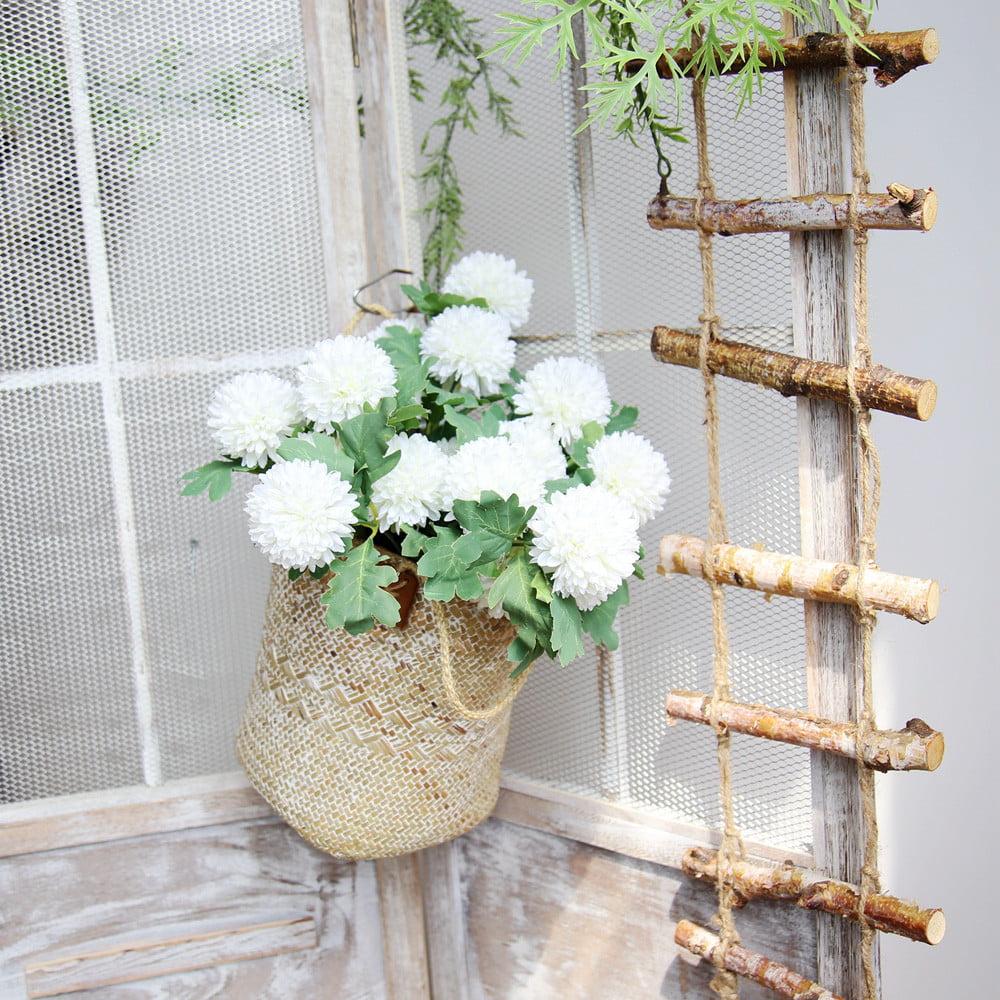 Mosunx Artificial Silk Fake Flowers Dandelion Floral Wedding Bouquet Hydrangea Decor BU