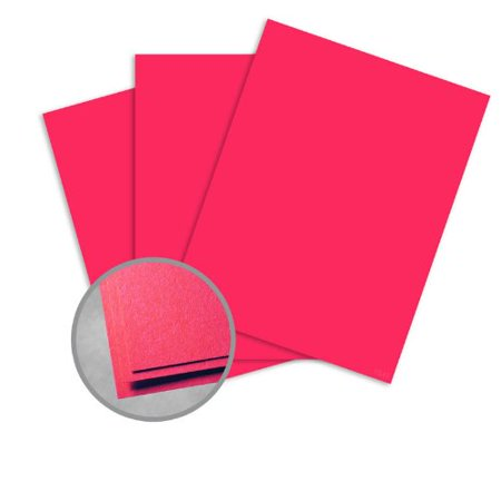 Astrobrights Rocket Red Paper - 11 x 17 in 60 lb Text Smooth 500 per Ream