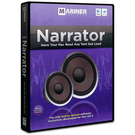 Narrator Text to Voice Software
