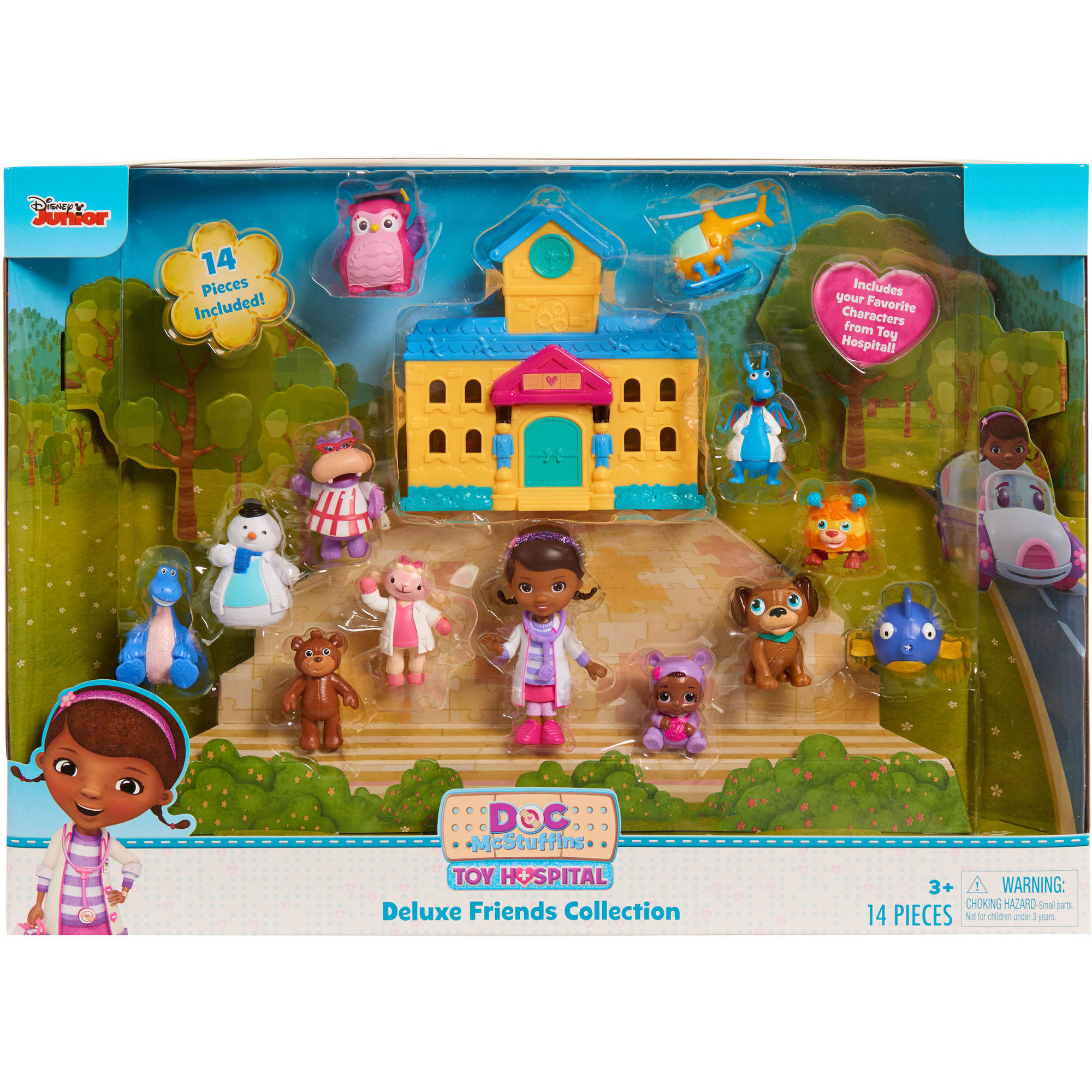 Disney Doc McStuffins Deluxe Friends Collection