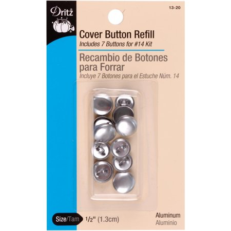 Dritz Cover Button Refills-Size 20 1/2