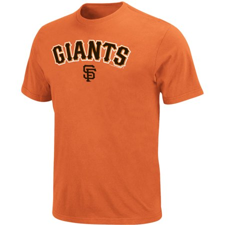 Men's Majestic Orange San Francisco Giants Bigger Series Sweep (San Francisco Giants Legend)