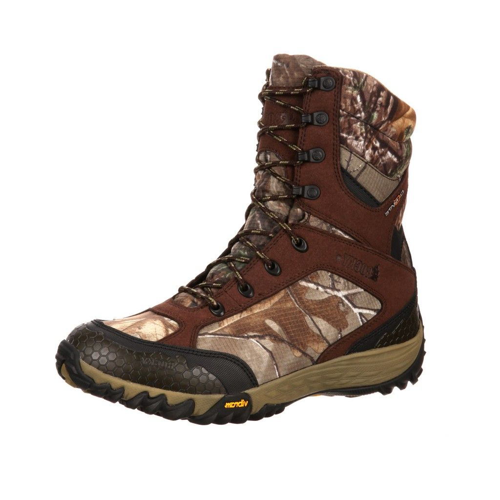"Rocky Outdoor Boots Mens 9"" Silenthunter WP Realtree Xtra RKYS116"