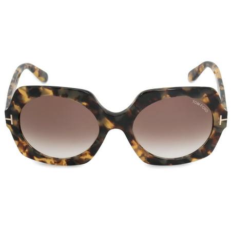 ea9260fa4bf87 Tom Ford - Tom Ford Sofia Round Sunglasses FT0535 56F 57