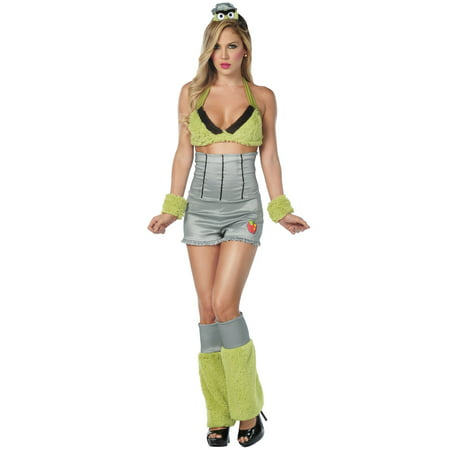 Sexy Grouchy Costume, Trash Can Costume