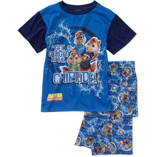 alvin and the chipmunks boys and pant 2 pajama