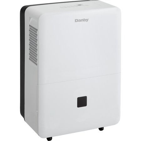 Danby DDR045BDWDB 16in Wide 45 Pint Energy Star Rated Portable Low Temp (Best Low Cost Dehumidifier)