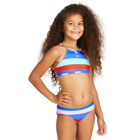 - Raisins Girls Cabana Girl High Neck Bikini Dominica Set 7