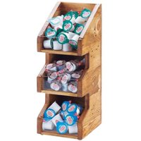 Cal Mil 2053-99 Madera 3 Section Condiment Display - Brown