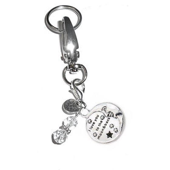 Hidden Hollow Beads - Hidden Hollow Beads Women s Keychains - Be Still Key  Ring Charm - Bag Charm - Walmart.com d0cea4505d