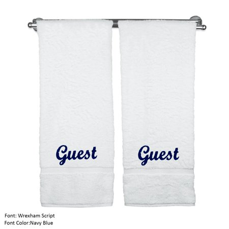 Luxury Hotel & Spa Guest Bath Towels Wedding Engagement Anniversary Gift (Wedding Guest Gift)