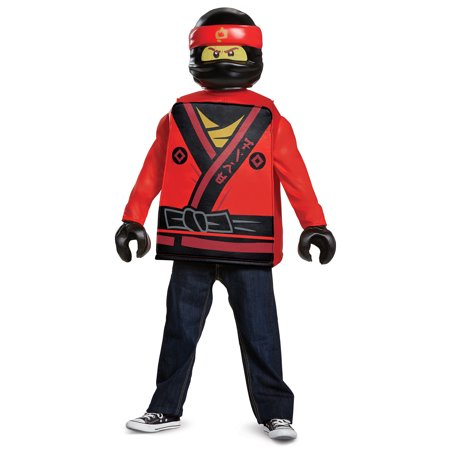 Kai Ninjago Halloween Costume (Lego Ninjago Boys' Kai Movie Classic)
