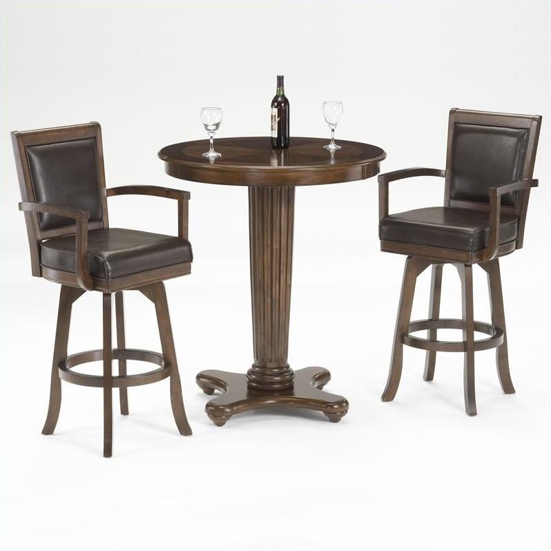Hillsdale Furniture Ambassador 3 Piece Indoor Pub Table Set by Hillsdale