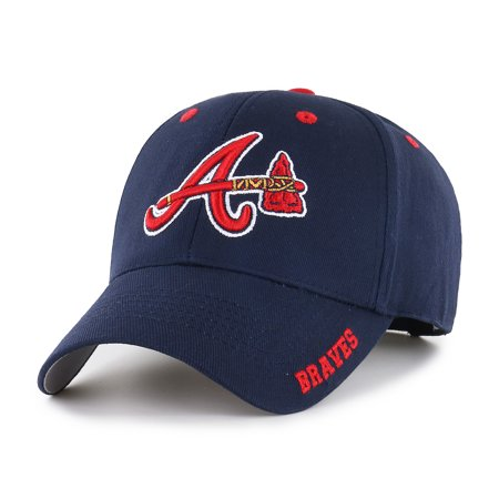 MLB Atlanta Braves Frost Adjustable Cap/Hat by Fan - Braves Atlanta