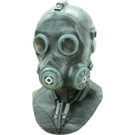 Smoke Latex Mask Adult Halloween Accessory - Halloween Punch That Smokes