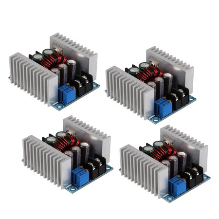 - TSV 20A DC-DC Step Down Buck Converter Module 6-40V to1.2-35V Adjustable Constant Voltage Constant Current Power Supply 300W Large Power Voltage Regulator Synchronous Rectification LED Drive, 4-Pack