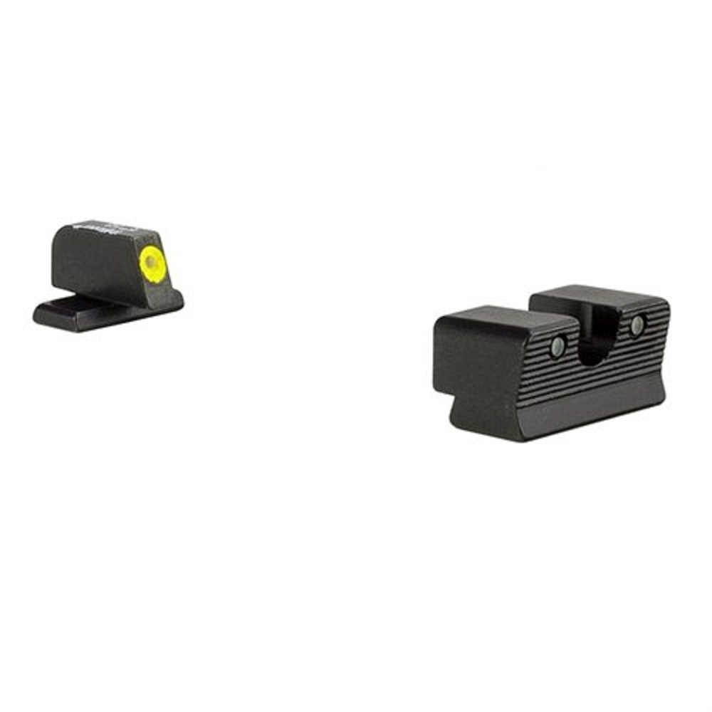 Trijicon HD XR Night Sight Set Yellow Front for Springfield Armory XD-S by Trijicon
