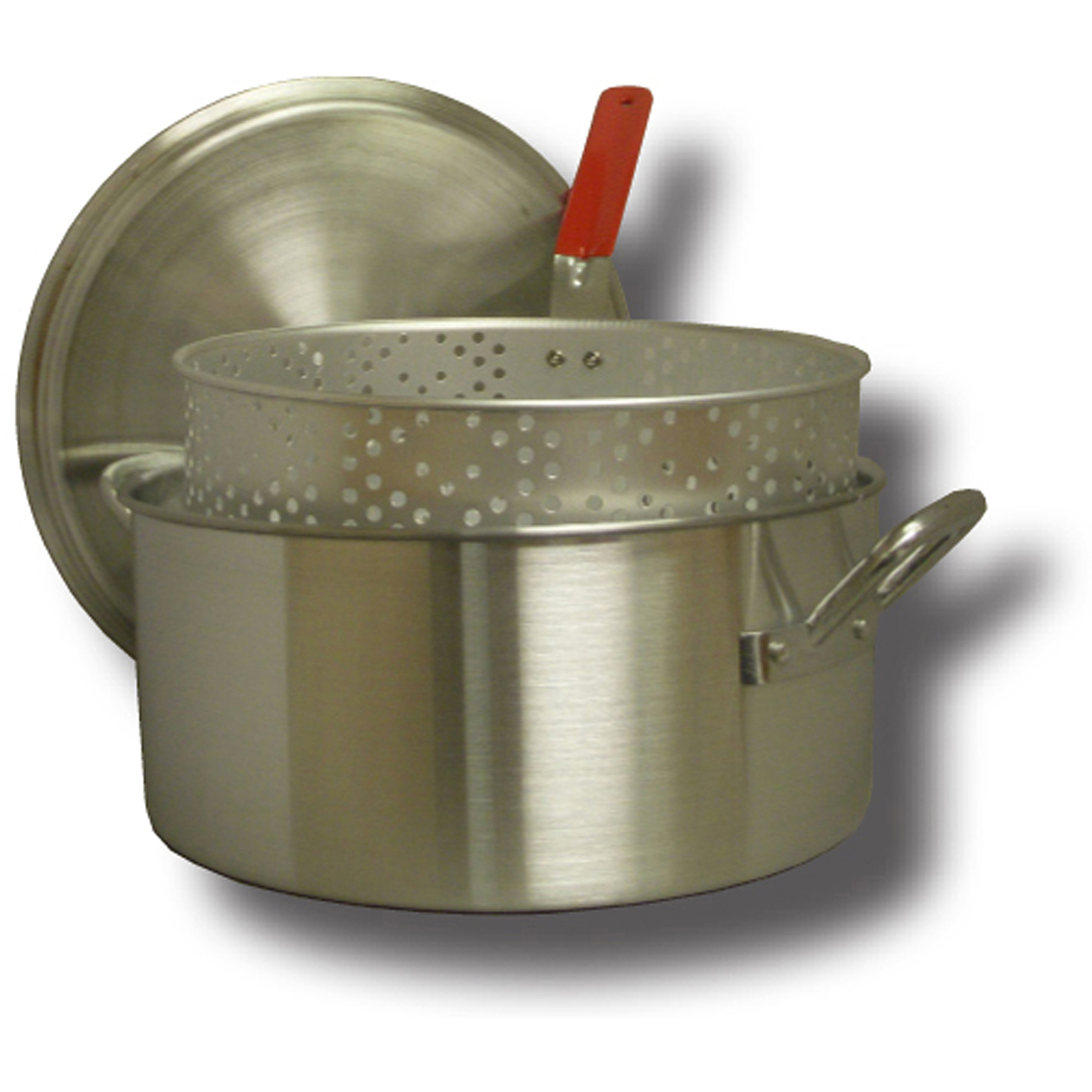 King Kooker 14 qt Aluminum Fry Pan with Basket and Lid