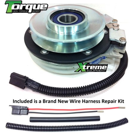 Bundle - 2 items: PTO Electric Blade Clutch, Wire Harness Repair Kit. on