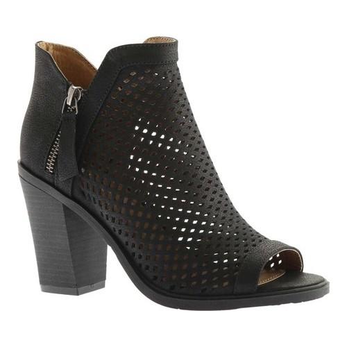 Portland Boot Company Emma Perforated Peep Toe Bootie (Women's)