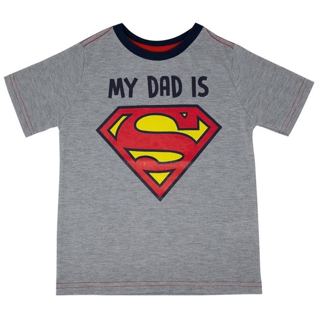 BOY/'S ROYAL BLUE SUPERMAN TEE T-SHIRT PERSONALIZED with Child/'s Name SZ 2T or 3T