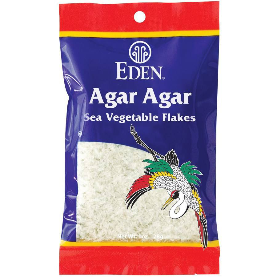 Eden Agar Agar, 1 oz, (Pack of 3) by