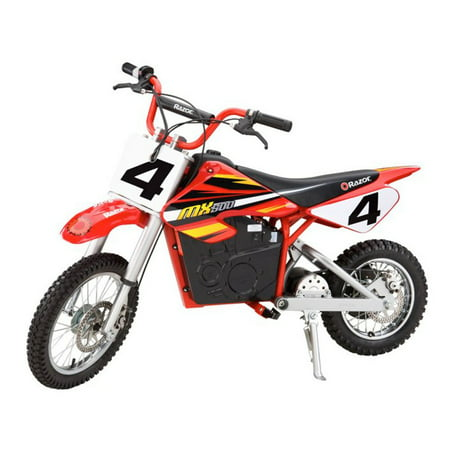 Razor MX500 Kids Dirt Rocket Supercross 15 MPH Electric Bike Motorcycle (Used Honda 80cc Dirt Bike For Sale)