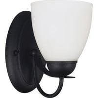 Sea Gull Lighting 44470 Uptown 1 Light Bathroom Sconce