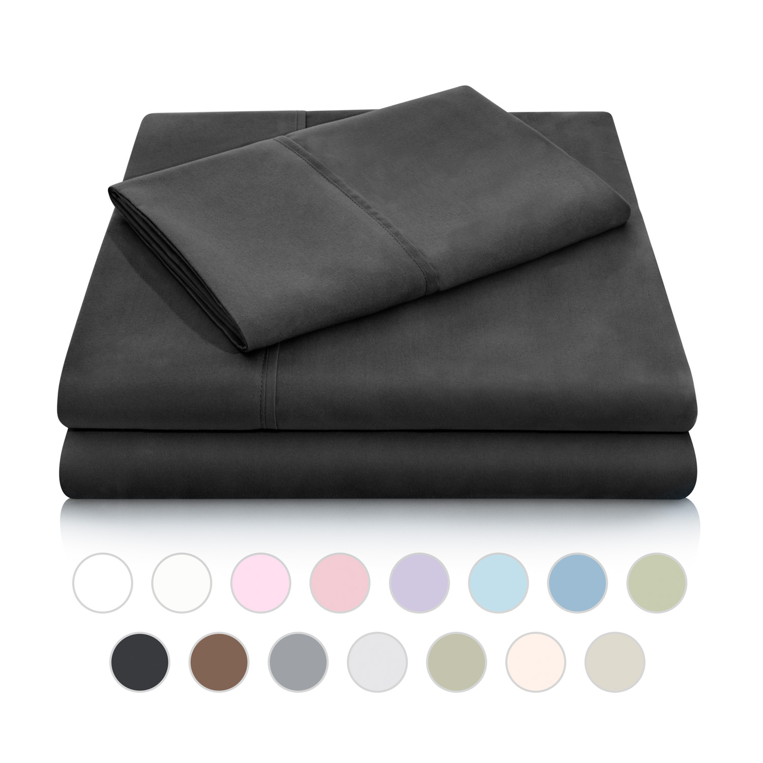 Woven Double Brushed Microfiber Sheet Set
