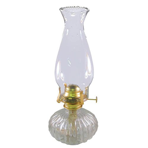 21st Century Products Ellipse Glass Hurricane Oil Lamp by Supplier Generic