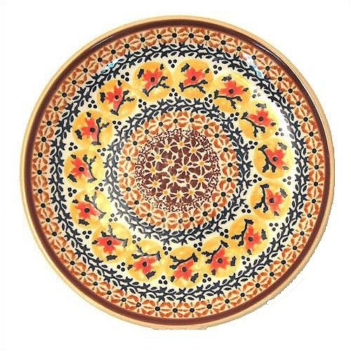 Euroquest Imports Polish Pottery 13'' Oval Serving Platter