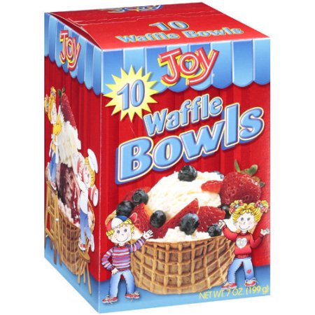 Joy, Waffle Bowls (Pack of 2)