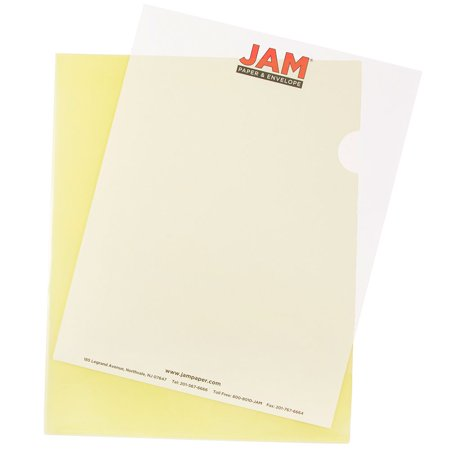 JAM Paper Plastic Sleeves, 9