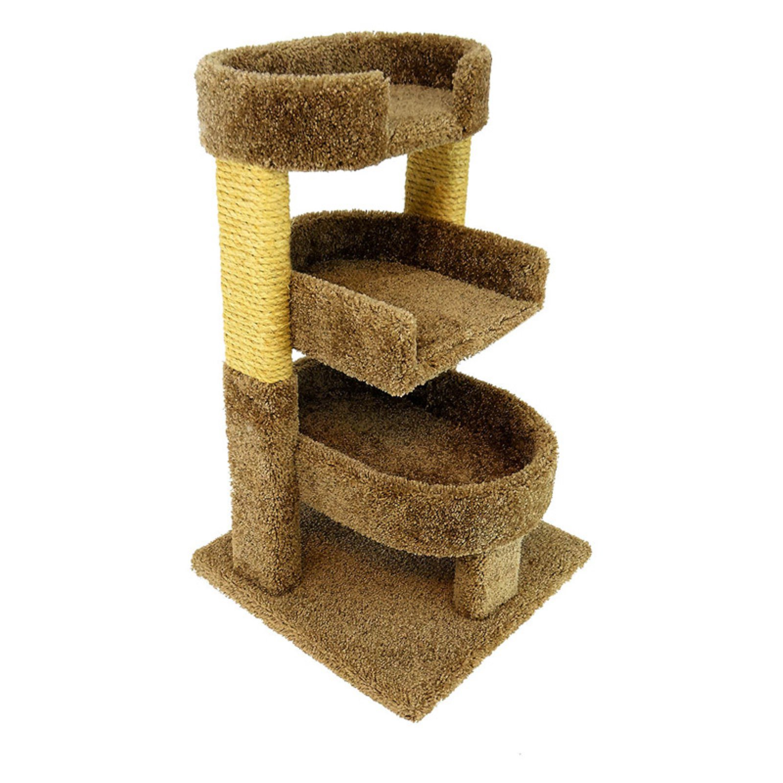 New Cat Condos 32 in. Triple Cat Perch
