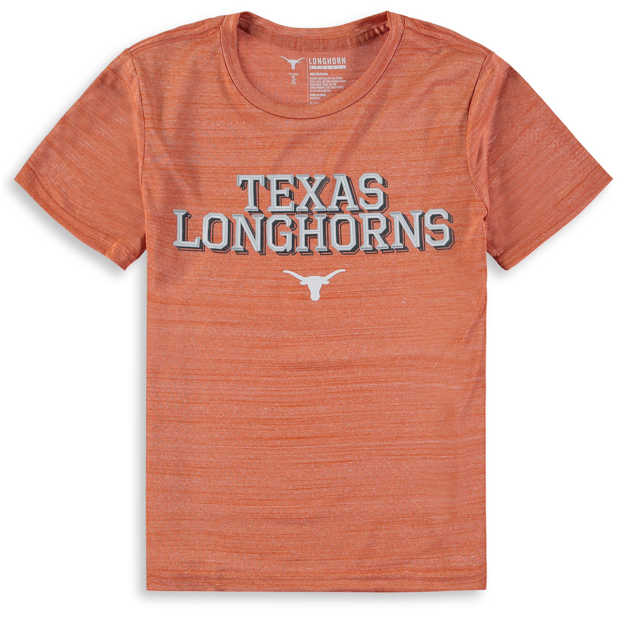 Youth Texas Orange Texas Longhorns Navar T-Shirt