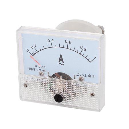 Unique Bargains Laboratory  0-1A Current Test Scale Range Analog Panel Meter Ammeter ()