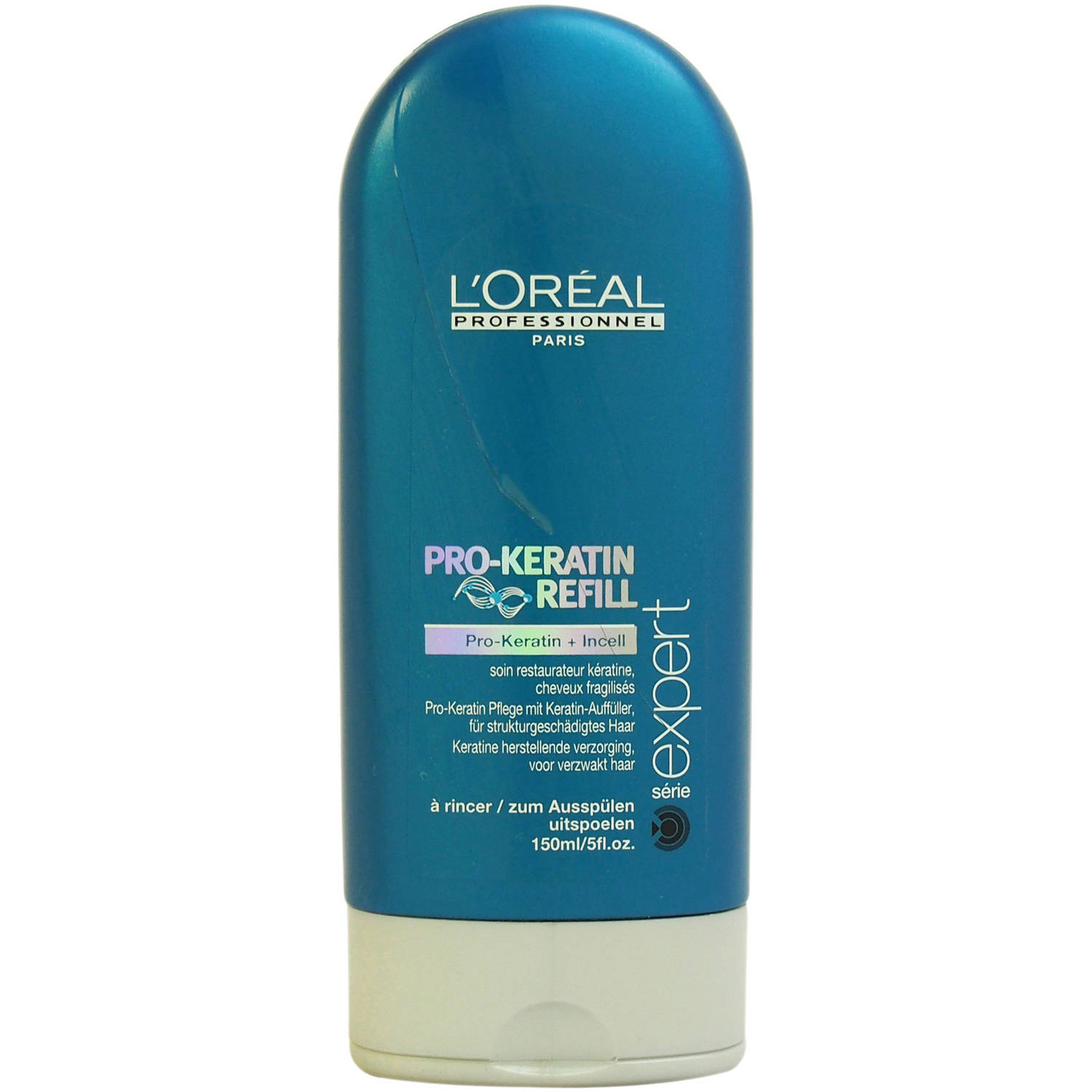 Serie Expert Pro-Keratin Refill Correcting Care Conditioner by L'Oreal Professional for Unisex, 5 oz