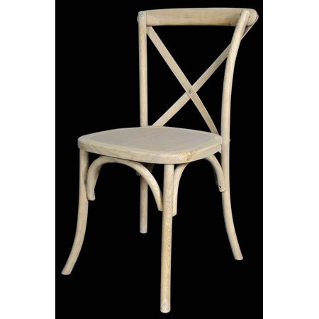 X Back Chair in Natural Finish - Set of 4