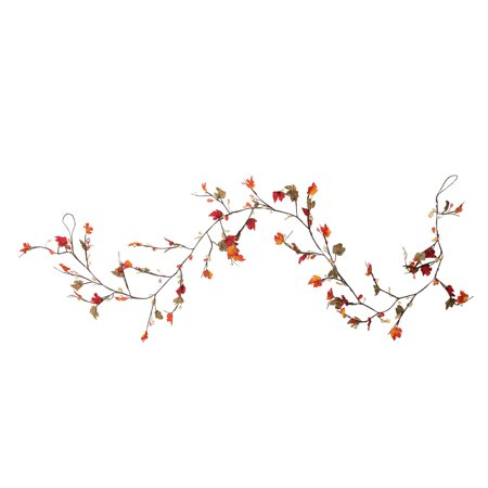 Fall Leaves Garland (Northlight 6' x 4