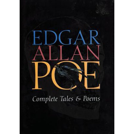 Edgar Allan Poe Complete Tales & Poems - Edgar Allan Poe Halloween Poetry